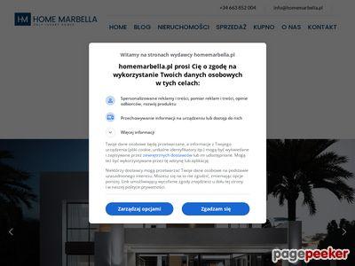 Costa del Sol nieruchomości w Hiszpanii
