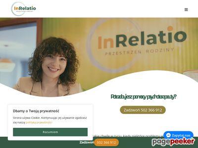 Psychoterapeuta dla dzieci Warszawa - inrelatiorodzina.pl