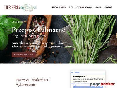 Lifesherbs.pl - przepisy kulinarne.