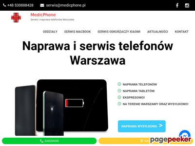 Naprawa telefonów komórkowych Warszawa - medicphone.pl
