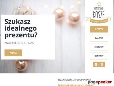 Kosze upominkowe - magiczne-kosze.pl