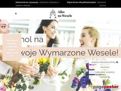 Piwo na wesela - alkonawesele.pl