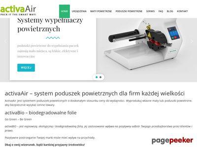 activaair.pl - poduszki powietrzne do paczek