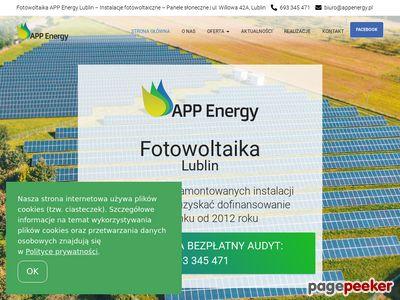 Fotowoltaika Lublin APP Energy