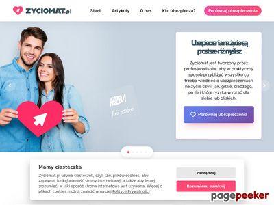 Zyciomat.pl – ubezpieczenia na życie - porównanie i kalkulacja polis na życie