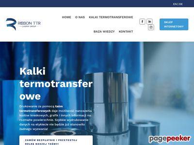Etykiety termotransferowe Wrocław - ribbonttr.com
