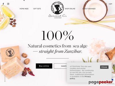 Naturalne kosmetyki z alg morskich - seaweed.pl