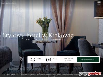 Hotel w Krakowie Plaza Boutique