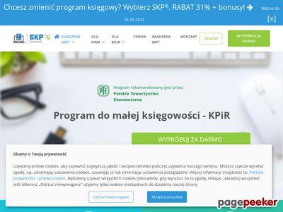 ksiega-podatkowa.pl - SKP program księgowy KPIR