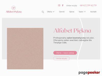 Alfabet Piękna salon kosmetyczny Łódź