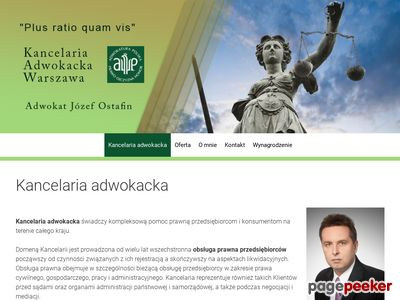 Kancelaria Adwokacka w Warszawie