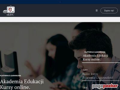 Platforma E-learningowa Aedu