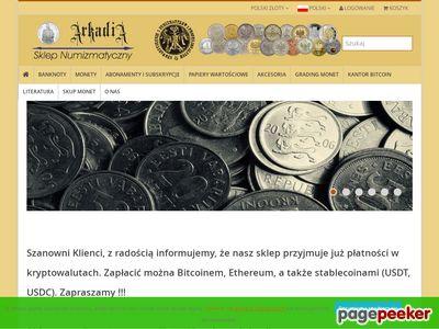 Sklep numizmatyczny Katowice, złote monety kolekcjonerskie, skup monet Śląsk