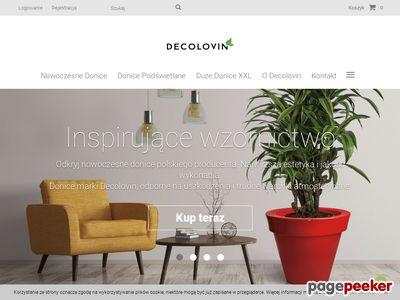 Decolovin.pl - duże doniczki mrozoodporne i dekoracje