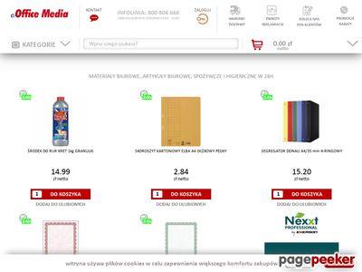eOfficeMedia - Artykuły biurowe