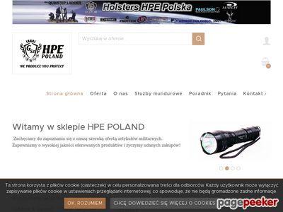 Holsters HPE Polska gaz pieprzowy