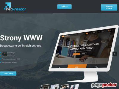 Net - Kreator - strony Internetowe dla firm