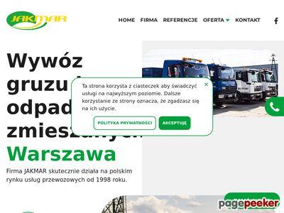 Wywóz odpadów budowlanych Warszawa