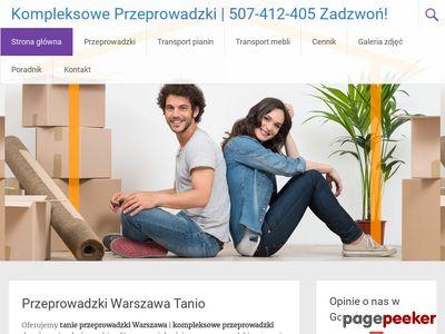 Przeprowadzki Warszawa Tanio