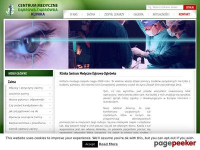 Operacje zaćmy - Klinika.Dabrowka.net