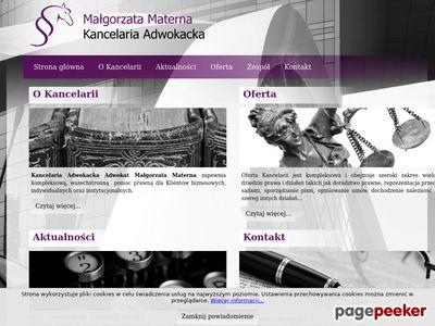 Adwokat Małgorzata Materna