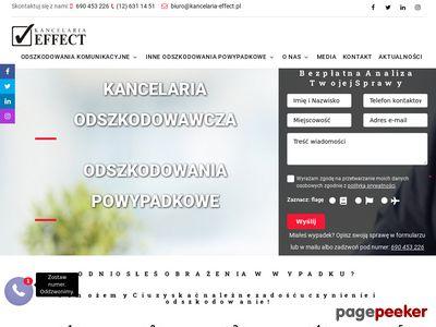 kancelaria-effect.pl Odszkodowania powypadkowe