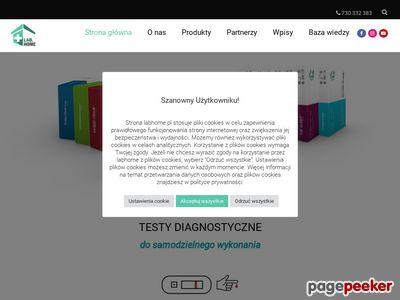 Testy diagnostyczne do uzytku domowego | LabHome.pl