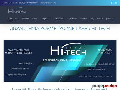 Laser Hi-Tech - urządzenia kosmetyczne