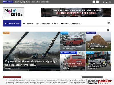 mototato.pl - blog motoryzacyjny - testy aut, opinie o samochodach