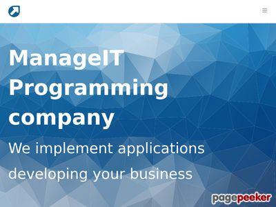 Manage IT usługi programistyczne