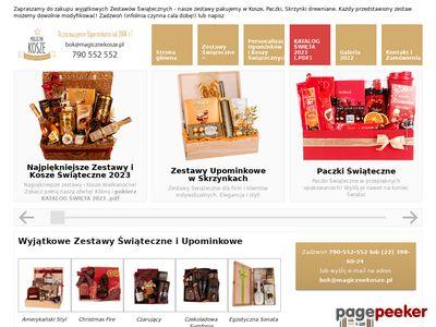 Kosze prezentowe - magicznekosze.pl