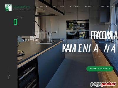 MarmoStyl blaty granitowe z montażem