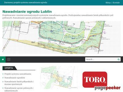 Zakładanie systemu nawadniania Lublin