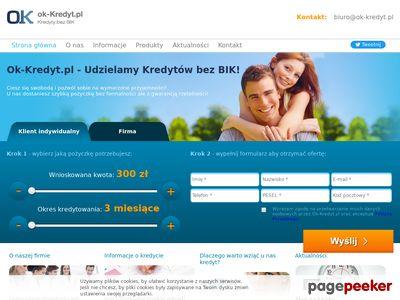 Ok-kredyt Pożyczka bez BIK
