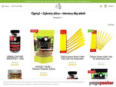 Organis.pl - sklep internetowy - zioła, suplementy, witaminy