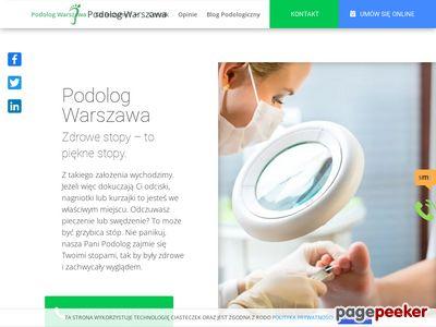 Dobry podolog Warszawa - podolog-warszawa.pro