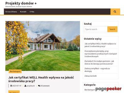 projektydomowplus.pl Tanie projekty domów
