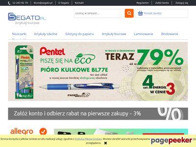 Segato.pl - artykuły i urządzenia biurowe - profesjonalnie i tanio