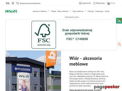 Płyty meblowe - Wior.pl