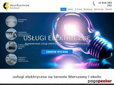 Elektryk Warszawa Bielany | Instalacje elektryczne Żoliborz