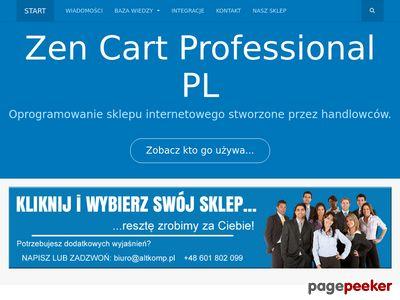 Zen Cart PL - profesjonalne sklepy internetowe - oficjalna polska strona