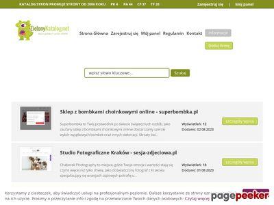 Zielony katalog