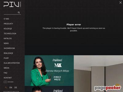 PIU Design - drzwi nowoczesnych wnętrz