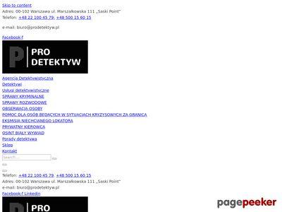 Agencja detektywistyczna PiT Detektywi, Poznań – usługi detektywistyczne na najwyższym poziomie