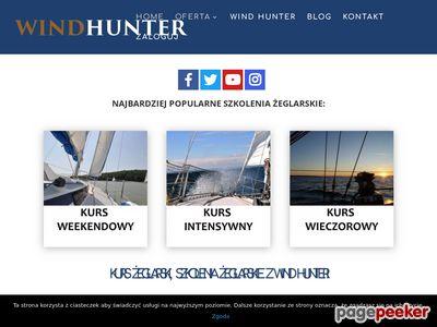 Patent żeglarski z Wind Hunter