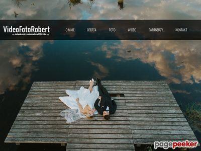VIDEO FOTO ROBERT filmowanie wesel kamerzysta Białystok