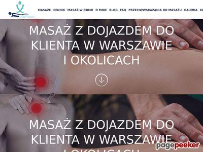 Masaże Kręgosłupa - Warszawa i okolice