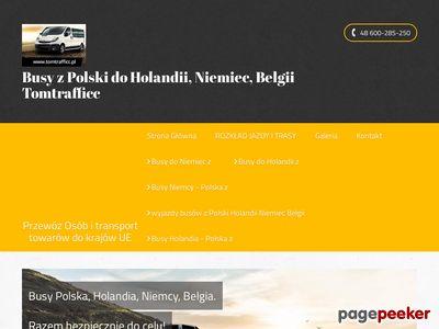 Tomtrafficc- przewóz osób z Polski do Niemiec.
