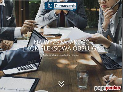JC - Biuro tłumaczeń pisemnych i ustnych