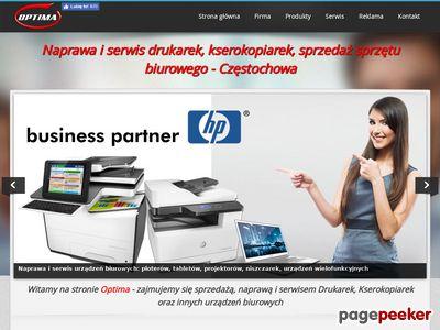 Naprawa drukarek Częstochowa - Optima-md